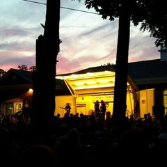 Photo taken at The Smithtown Library - Main Building by craig l. on 7/6/2012