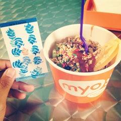 Photo taken at Myo Pure Frozen Yogurt by Ariana C. on 8/23/2012
