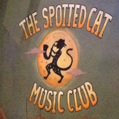 Photo taken at The Spotted Cat Music Club by Gaby D. on 7/30/2012