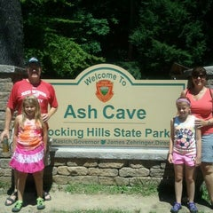 Photo taken at Ash Cave by Jeff D. on 8/7/2012