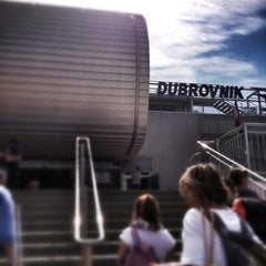 Photo taken at Dubrovnik Airport (DBV) by Kayoko O. on 9/3/2012