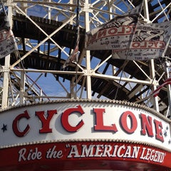 Photo taken at The Cyclone by Conrad D. on 7/14/2012