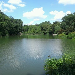 Photo taken at Central Park Duck Pond by BT h. on 8/16/2012