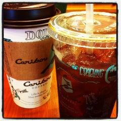 Photo taken at Caribou Coffee by Sarah M. on 4/29/2012