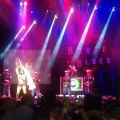 Photo taken at House Of Blues by Hobie A. on 8/15/2012