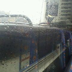 Photo taken at Megabus Birmingham City Centre Stop SH8 & SH9 by Mark B. on 6/21/2012