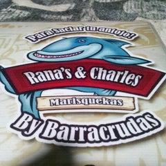 Photo taken at Barracrudas Beach Lounge by Ranas & Charles by Felipe R. on 8/30/2012