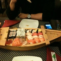 Photo taken at Sushidoro by Luca C. on 2/29/2012
