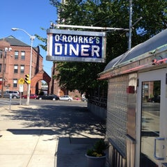 Photo taken at O'Rourke's Diner by Ace B. on 8/26/2012