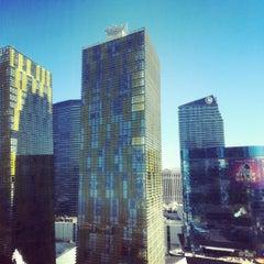 Photo taken at Mandarin Oriental, Las Vegas by Neil on 4/15/2012