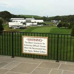 Photo taken at Bethpage State Park - Black Course by Lauren T. on 8/21/2012
