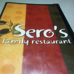 Photo taken at Sero's Family Restaurant by Zach D. on 7/30/2012