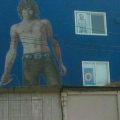 Photo taken at Jim Morrison Mural by Jonathan S. on 4/2/2012