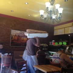 Photo taken at Brooklyn Bread Cafe by Mike O. on 6/1/2012