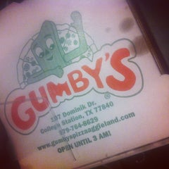 Photo taken at Gumby's Pizza by ShopBrazos on 7/28/2012