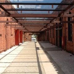 Photo taken at Cinemateca Brasileira by Livia Z. on 2/14/2012
