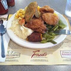 Photo taken at Fred's Market Restaurant by Joseph D. on 6/15/2012
