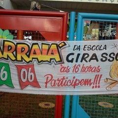 Photo taken at Escola Girassol by Luciano B. on 6/16/2012