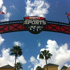 Photo taken at ESPN Wide World of Sports by Kyle S. on 9/5/2012