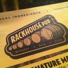 Photo taken at Rackhouse Pub by Sherri M. on 6/24/2012