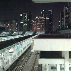 Photo taken at 구로역 (Guro Stn.) by Mang M. on 5/5/2012