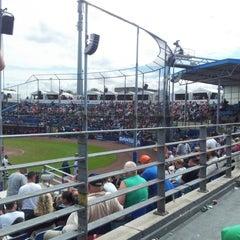 Photo taken at Pim Mulier Baseball Stadium by Jolanda d. on 7/21/2012
