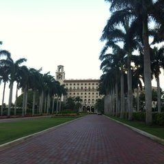Photo taken at The Breakers Palm Beach by Michelle M. on 4/22/2012
