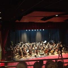 Photo taken at Teatro Luis Mariano Rivera by Glensimar G. on 5/30/2012