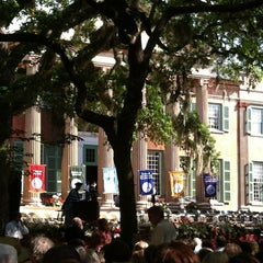 Photo taken at College of Charleston by Elisabeth on 5/12/2012