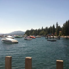 Photo taken at Tahoe Park Homeowners Beach by Cindy S. on 8/19/2012