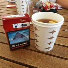 Photo taken at ABM Cafe Acikhava by Emre A. on 8/8/2012
