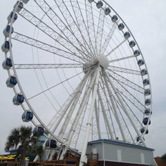 Photo taken at Myrtle Beach SkyWheel by Taylor S. on 5/19/2012