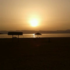 Photo taken at South Beach - Aqaba by Jeroen V. on 5/22/2012