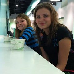 Photo taken at YogurtiniOP by Lisa L. on 4/16/2012