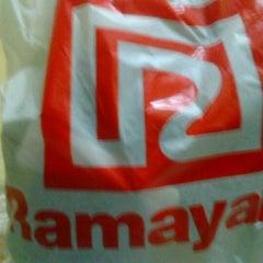 Photo taken at Ramayana Dept. Store by Ochi Y. on 5/5/2012