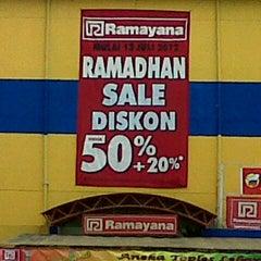 Photo taken at Ramayana Dept. Store by Hadi A. on 7/26/2012