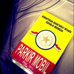 Photo taken at Kementerian Sekretariat Negara RI by Tiwie L. on 3/9/2012
