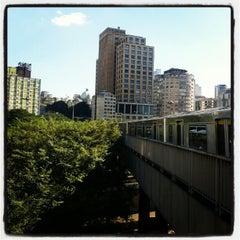 Photo taken at Estação Pedro II (Metrô) by José Otávio T. on 7/6/2012