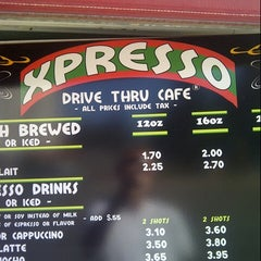 Photo taken at Expresso Drive Thru Cafe by Walter P. on 7/21/2012
