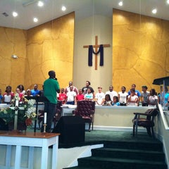 Photo taken at Christ The King Baptist Church by Tirrell W. on 6/23/2012