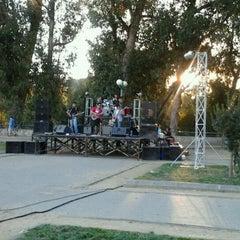 Photo taken at Parque Escuela Normal by Carla O. on 2/11/2012