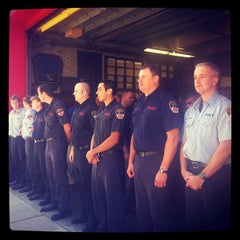 Photo taken at FDNY Ladder 3 by Kirsten P. on 9/11/2012