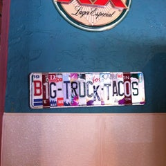 Photo taken at Big Truck Tacos by Cynthia N. on 3/5/2012