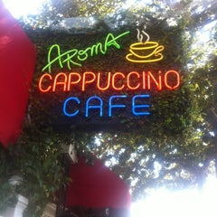 Photo taken at Aroma Coffee and Tea Co. by Karla M. on 3/10/2012