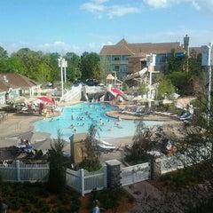Photo taken at Disney's Saratoga Springs Resort & Spa by Eric P. on 3/23/2012