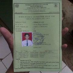 Photo taken at SMA Negeri 2 Cibinong by Arinto Bagas S. on 5/11/2012