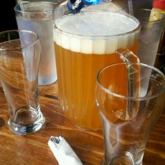 Photo taken at Twain's Brewpub & Billiards by Rell S. on 3/31/2012