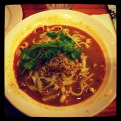 Photo taken at Little Village Noodle House by Megumi H. on 8/4/2012