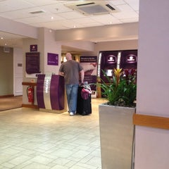 Photo taken at Premier Inn London County Hall by Thomas A. on 2/25/2012