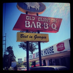 Photo taken at Old Clinton Bar-B-Q by stanley l. on 4/12/2012